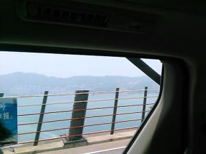 香港から広州へ