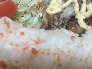 カットサラダ+唐揚げ