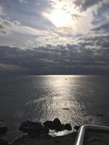 城ヶ島公園から見た景色