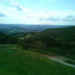 ふれあい牧場付近から見た景色