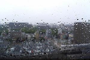 こんな感じの雨でした