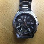 妻から始めてプレゼントされたSEIKOの腕時計